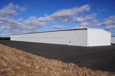 Burlington Airport hangar #2