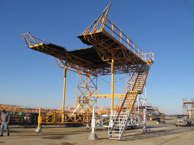Timco Aviation DC-9 work Platform