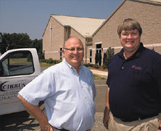 Charlie Hall and Scott Flanagan of Cirrus Construction