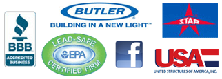 EPA Certified, STAR, Better Business Bureau, Butler