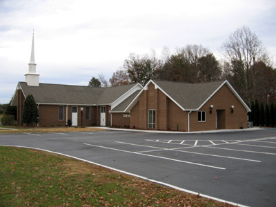 Centenary United Methodist Church.  Stoneville NC     Classroom Addition  Wood frame and Brick Veneer